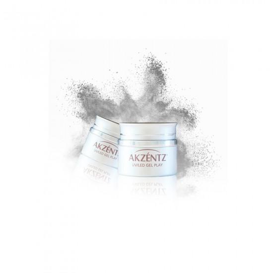 GEL PLAY Pearlescent Powder Silver